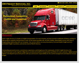 www.dmfreightservices.com